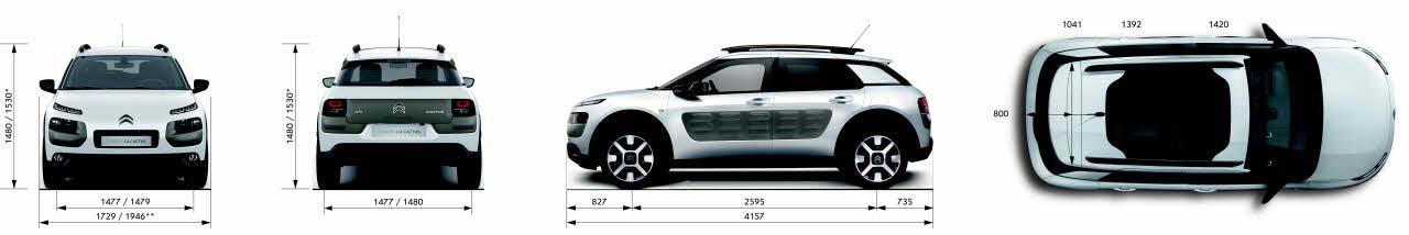 Citroen-C4-Cactus-dimenzije-vozila